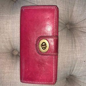 Coach Pink Wallet